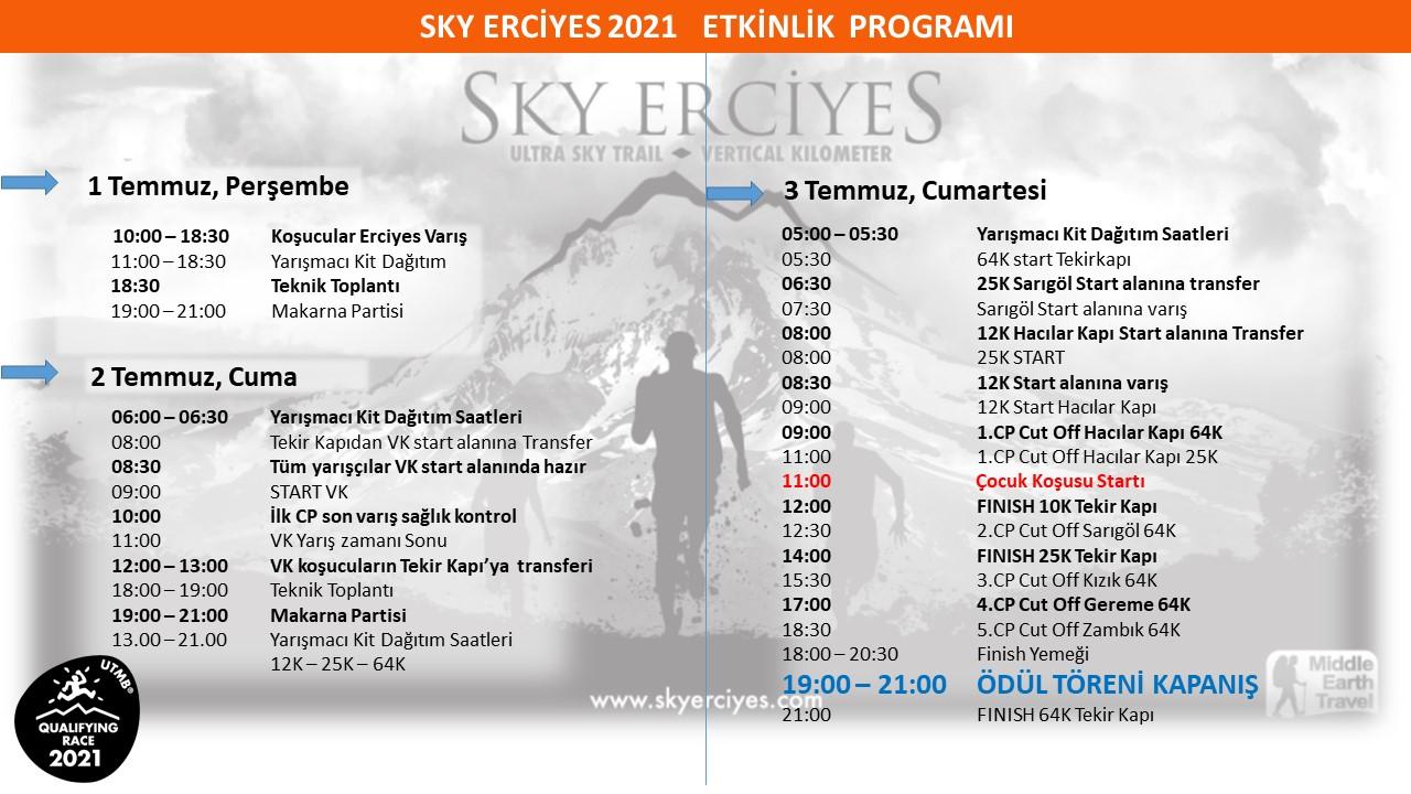 yarış programı 2021-2